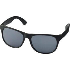 Retro tweekleurige zonnebril
