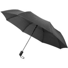 "Gisele 21"" heathered automatische paraplu"