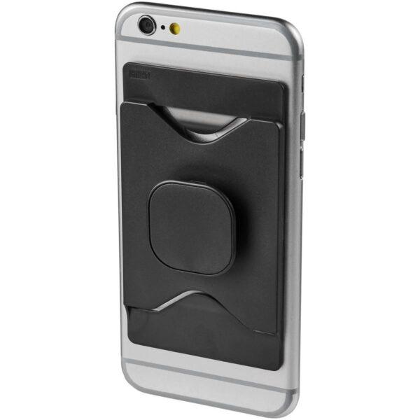 Purse houder voor mobiele telefoon met kaarthouder