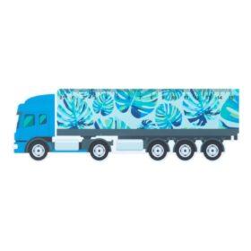 Trucker 15 liniaal van 15 cm, vrachtwagen