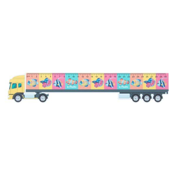 Trucker 30 liniaal van 30 cm, vrachtwagen