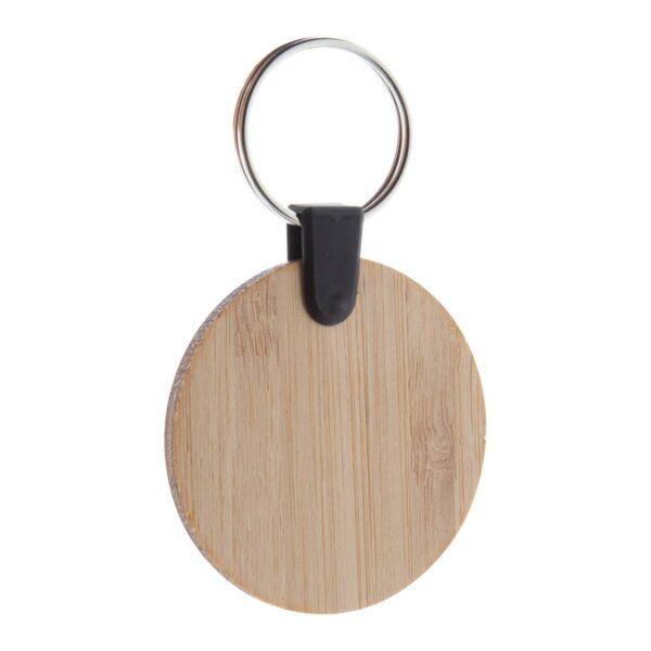 Bambry bamboo sleutelhanger