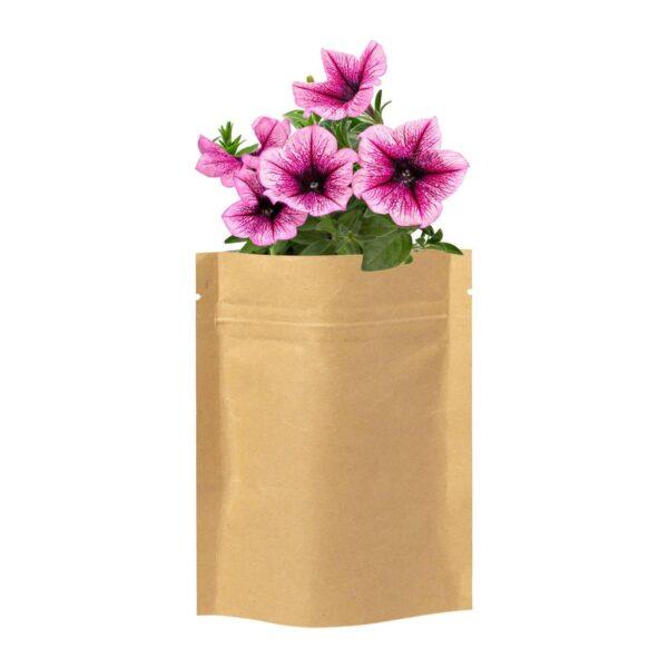 Sober bloemen planten kit
