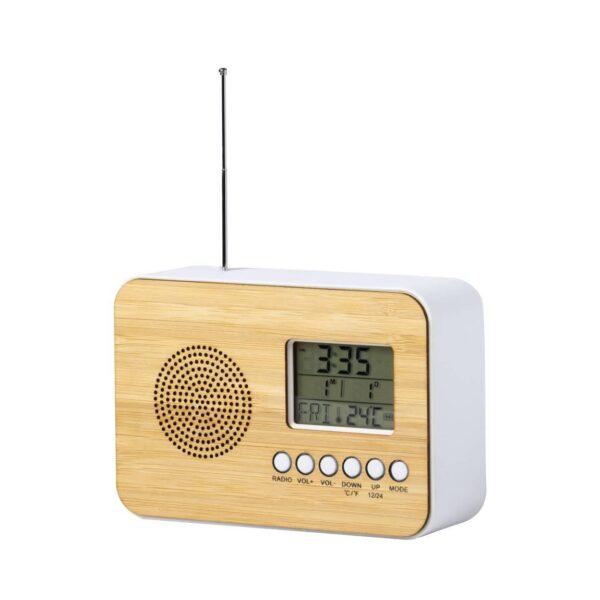 Tulax radio bureauklok