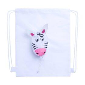 Kissa trektouw tas, zebra