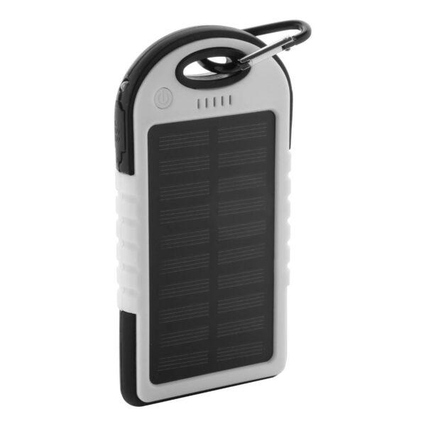 Lenard USB power bank met zonne energie lader
