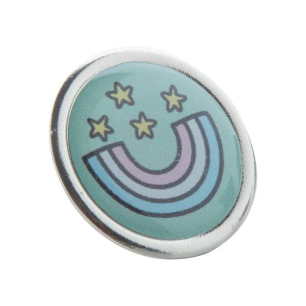 Read metalen badge