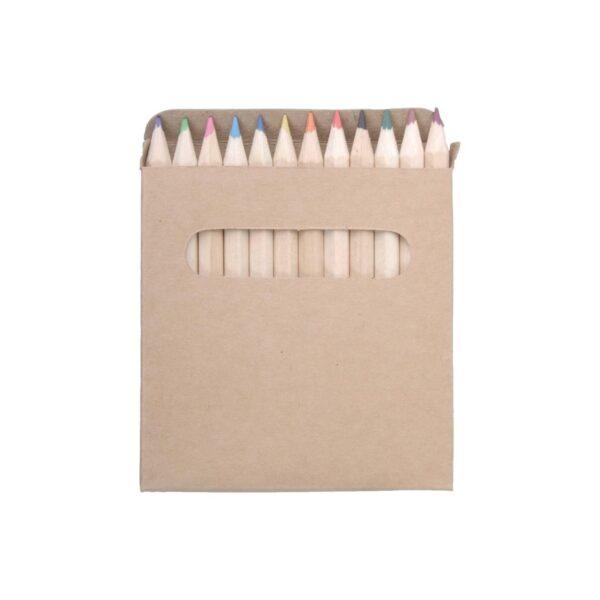 Lea 12 kleurpotloden in kartonnen doosje