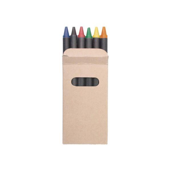 Liddy 6 waskrijtjes in een kartonnen doosje