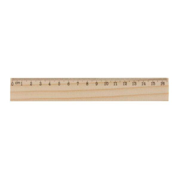 OneSix liniaal grenen hout