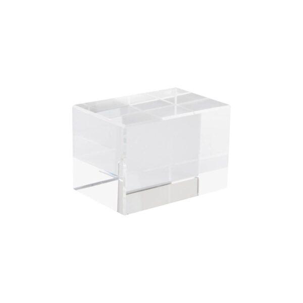 Macon glazen kubus