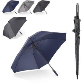 "Deluxe 27"" vierkante paraplu auto open"