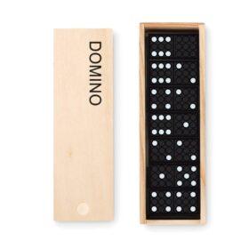 Houten dominospel