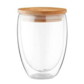 Dubbelwandig drinkglas 350ml