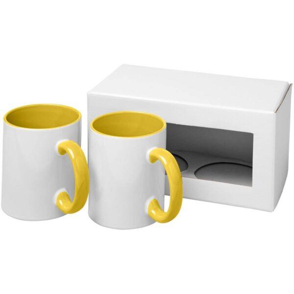 Ceramic sublimatie mok 2 delige geschenkset