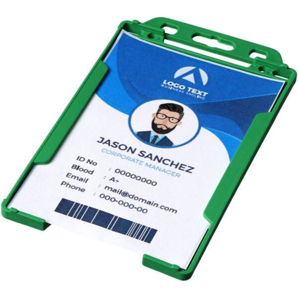 Pierre transparante badgehouder