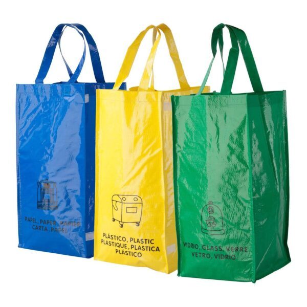 Lopack recycling tassen