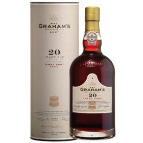 Grahams 20 year old port in geschenkbox