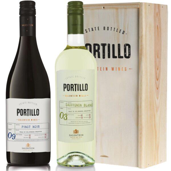Portillo Sauvignon Blanc en Pinot Noir