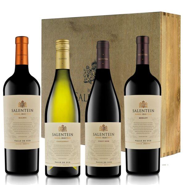 Salentein Barrel Selection geschenkkist 4 pack