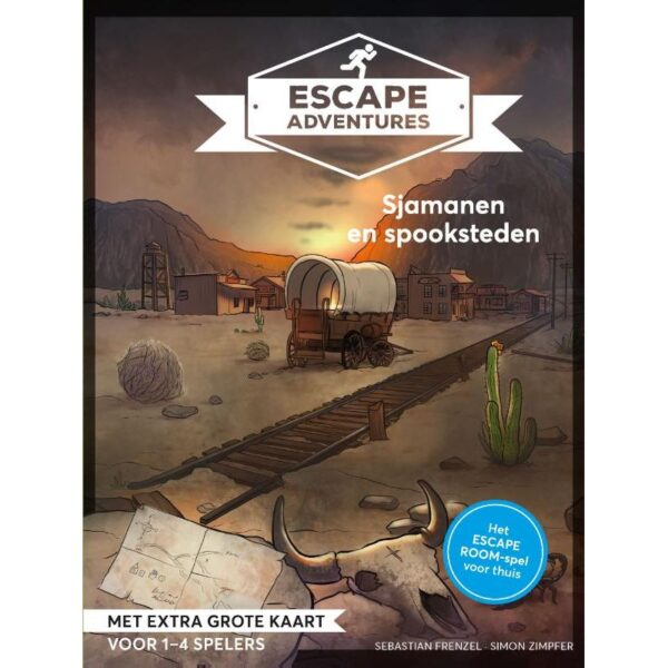 Escape Adventure Sjamanen en spooksteden