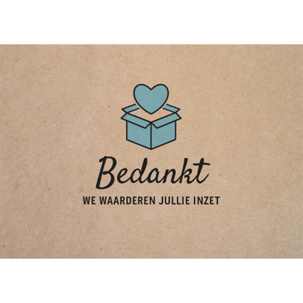 Wenskaart Inzet
