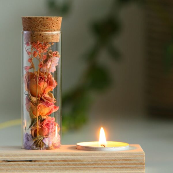 BlooMemory Candle droogbloemen
