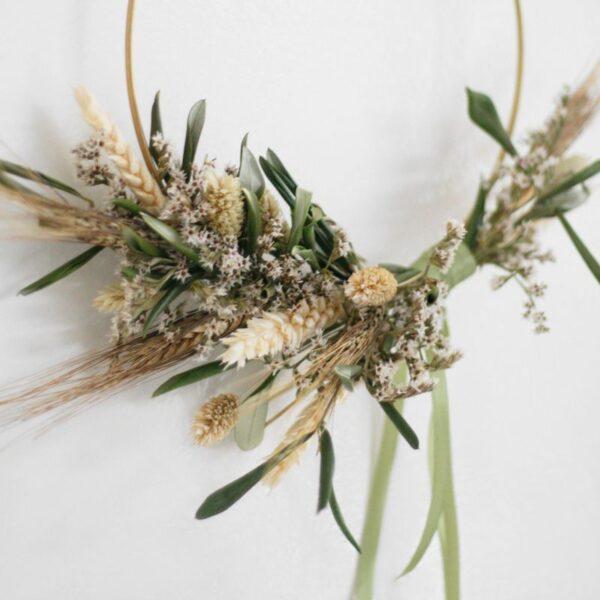 BloomRing Green DIY droogbloemen