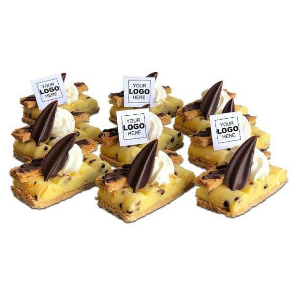 Chocolate Crisp Tompoes