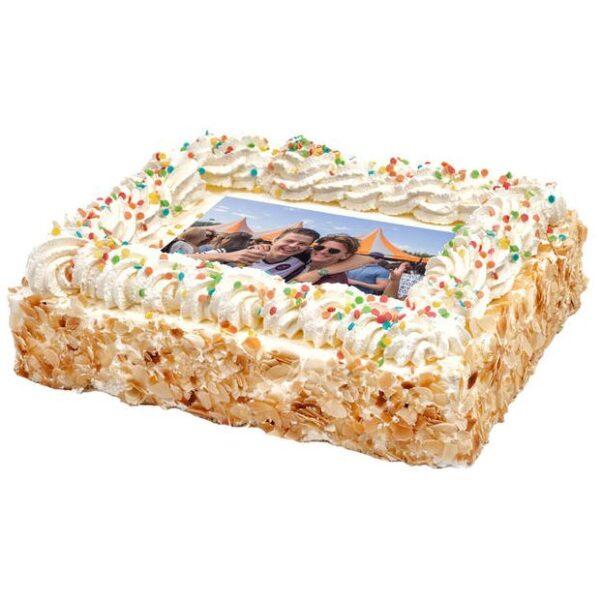 Foto taart slagroom