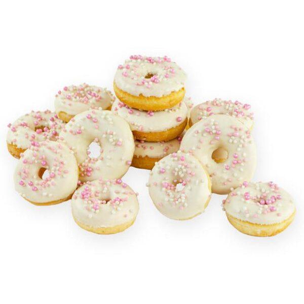 Donuts wit roze
