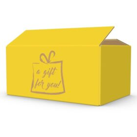 Gift For You geel geschenkdoos