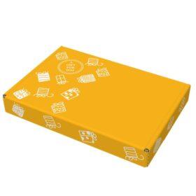 Gift For You geel brievenbusdoos