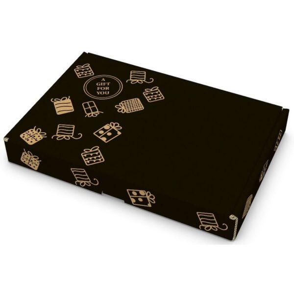 Gift For You zwart brievenbusdoos