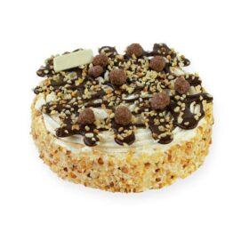 Hazelnoot Schuim taart