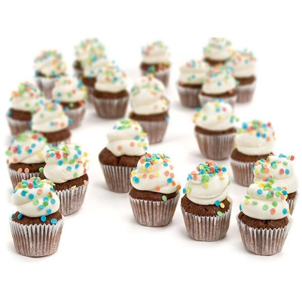 Cupcakes mini chocolate
