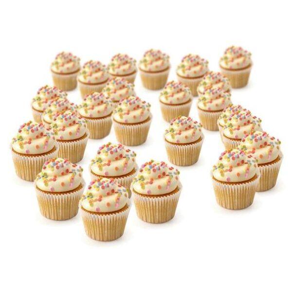 Cupcakes Mini Vanille