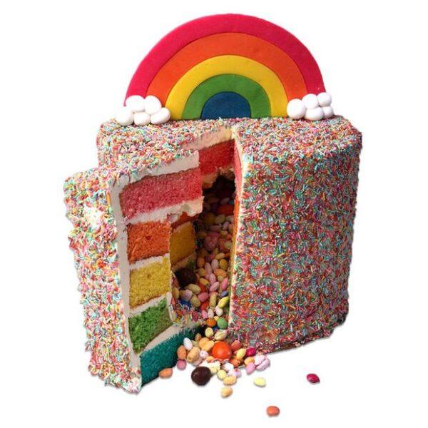 Regenboog Layer Cake