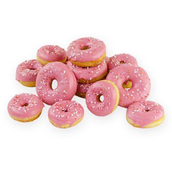 Donuts liefdevolle roze