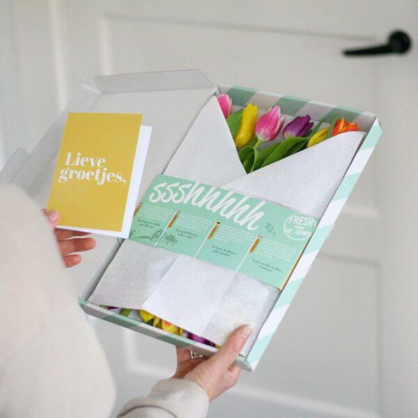 Tulpen Mix brievenbusbloemen