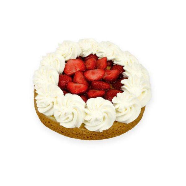 Vers aardbeien taartje